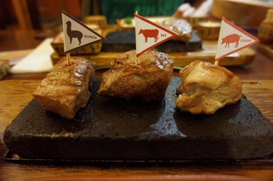 Zig Zag Restaurant: Sizzling meats!