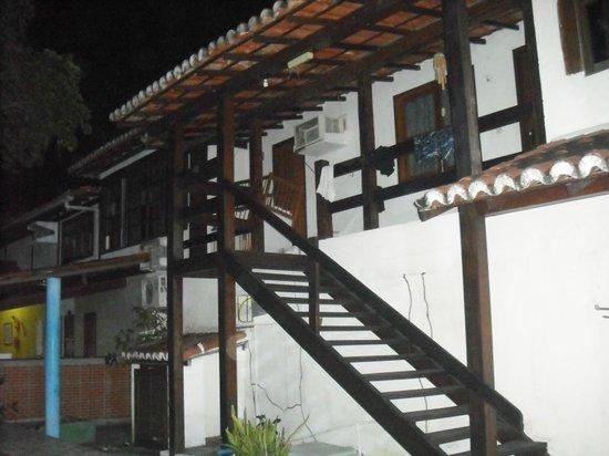 Aguia Porto Hotel: Escaleras a la habitaciones de arriba