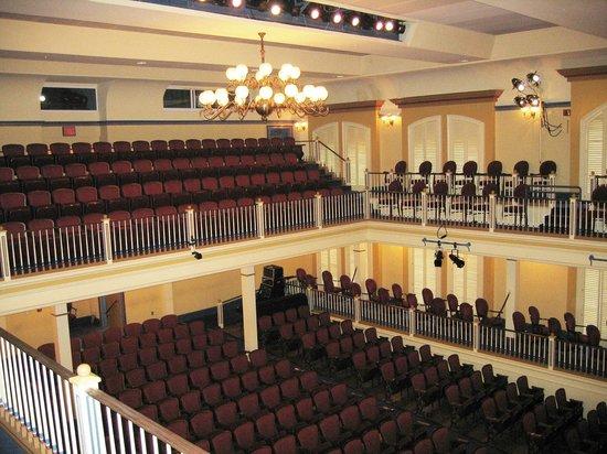 Newberry Opera House: The Auditorium