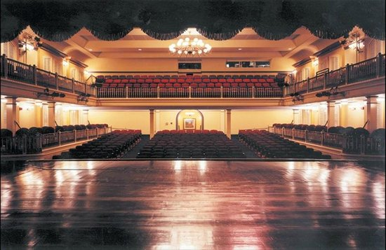 Newberry Opera House: View from the Stage