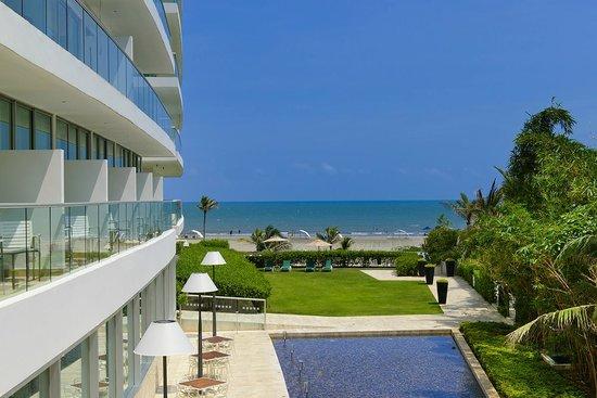 Holiday Inn Cartagena Morros: Vista desde Balcón