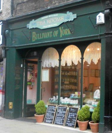 Bullivant of York: Tea for two!