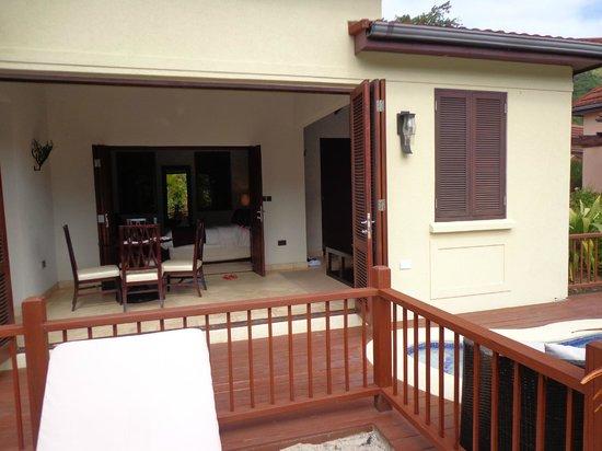 Buccament Bay Resort: Our garden villa