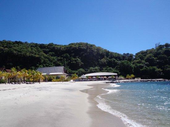 Buccament Bay Resort: Beach