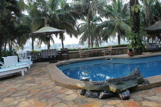 Hotel Napoleon Lagune : Pool at the Napoleon Lagune Hotel