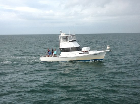 Gulfstream ii deep sea fishing picture of gulfstream ii for Fishing clearwater fl