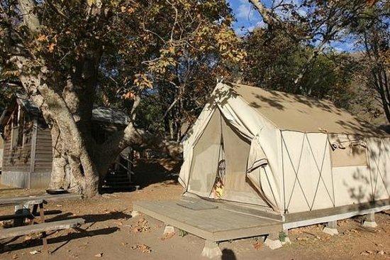 El Capitan Canyon: Tent