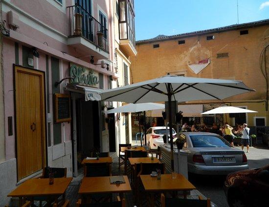 Olivia Cafe : la terracita del Olivia