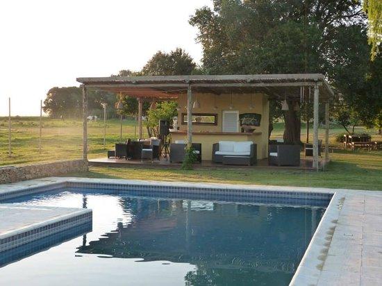 Casa Los Jazmines: relax en la piscina