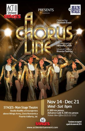 Act II STAGES : A CHORUS LINE