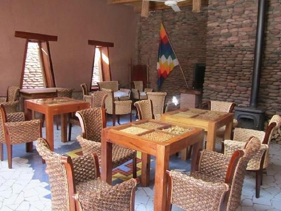 Lodge Andino Terrantai: Sala de lectura