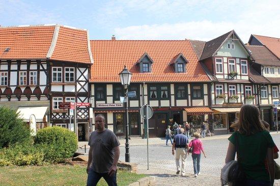 Luftfahrtmuseum Wernigerode: Центральная площадь Вернигероде