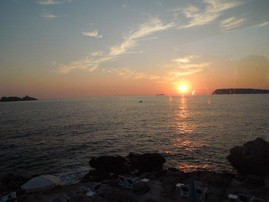 Ariston Hotel : por do sol em Dubrovnik
