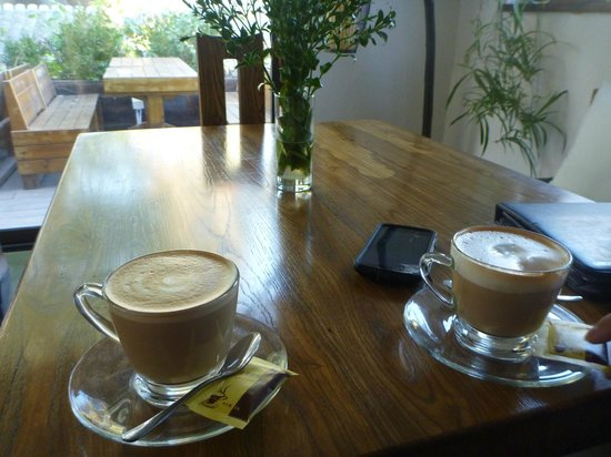 The Orchid Hotel : great coffee