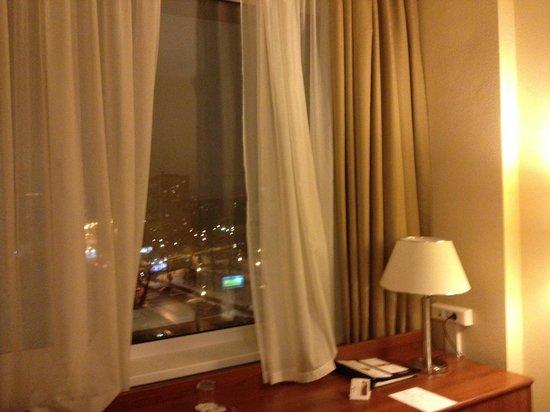 Maxima Panorama Hotel: Хорошее оснащение и классный вид из окна.