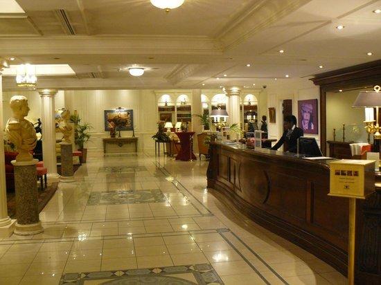 Stanhope Hotel: Reception de l'hotel