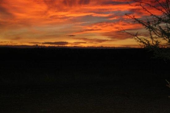 Ronjo Tented Camp: coucher de soleil