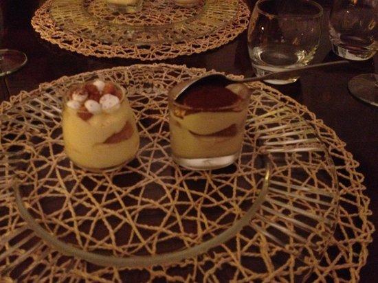 Gourmet Giglio Bianco B&B: tiramisu sampler