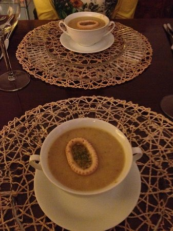 Gourmet Giglio Bianco B&B: soup