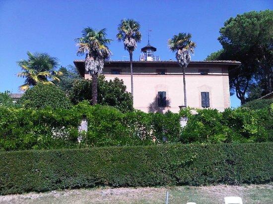 Agriturismo Castel di Pugna: façade arrière