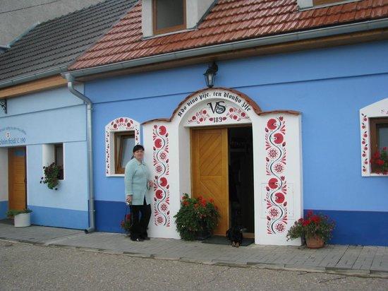 Hotel Kravi Hora : Винный склеп