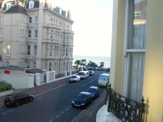 The Guesthouse East: View from Suite 2
