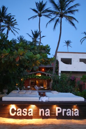 Casa na Praia : Frente