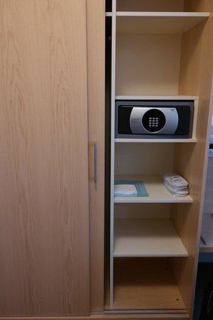 Walhalla Hotel: safebox