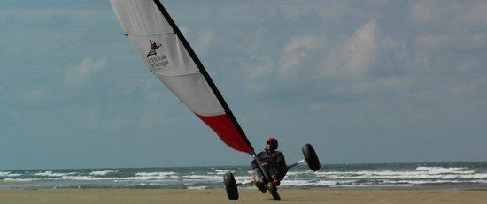 Oleron Char a Voile: Char à voile modèle Ludic de chez Seagull