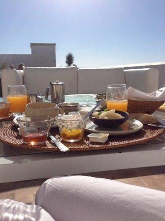 Madada Mogador: petit dejeuner