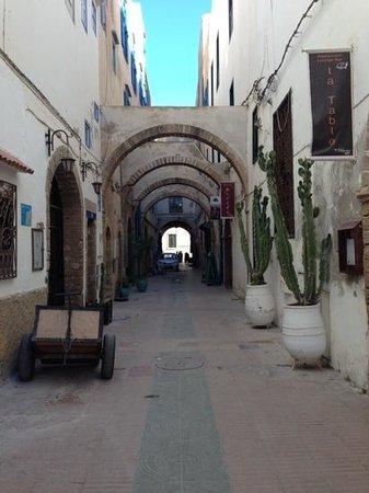 Madada Mogador: rue du riad