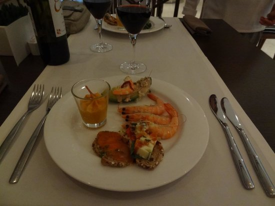 Meliá Marbella Banus: Au restaurant