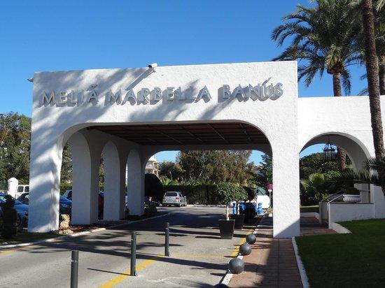 Melia Marbella Banus: Entrée principale
