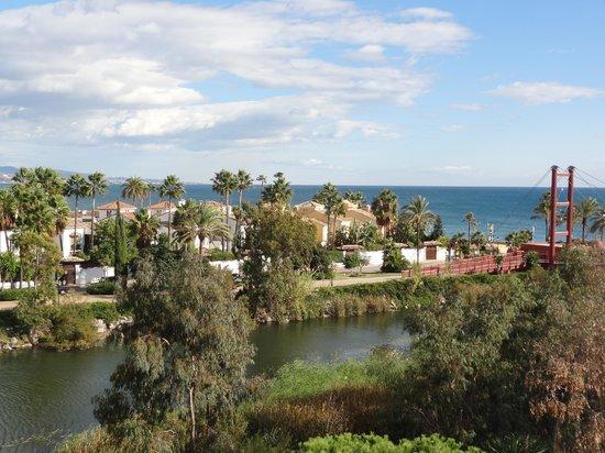 Melia Marbella Banus : Vue Est vers Marbella