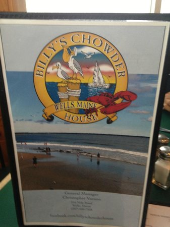 Billy's Chowder House: Enter