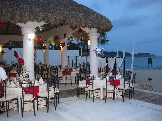 La Isla Huatulco & Beach Club: Banquetes
