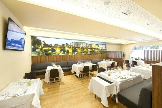 Hotel Sercotel Ciudad de Miranda: Comedor secundario