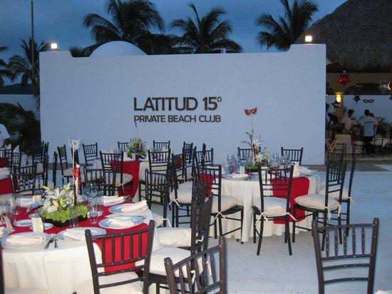 La Isla Huatulco & Beach Club: Banquetes y eventos