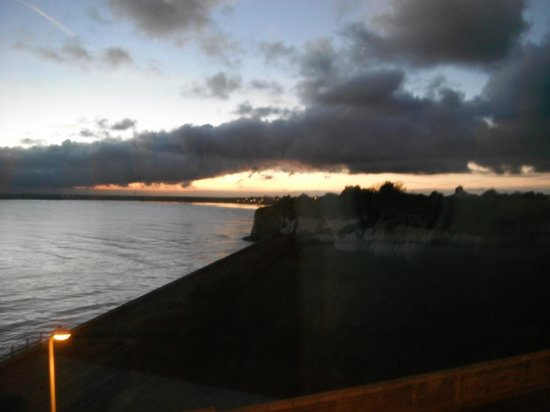Pegwell Bay Hotel : Lovely sunset