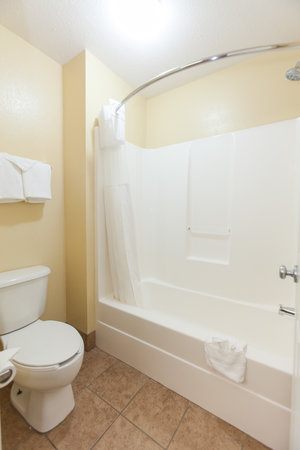 Douglas Inn & Suites: Bathroom