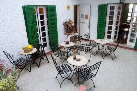 Lisetonga Hostel: Terrace