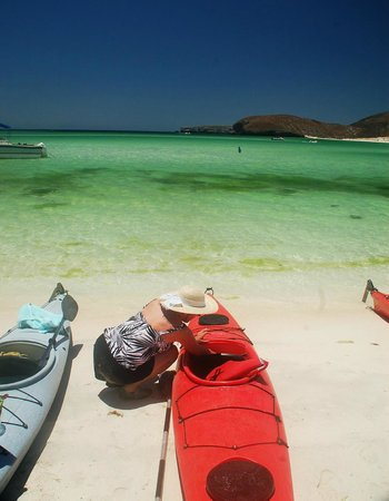 Todos Santos Eco Adventures - Day Tours: Sea of Cortez ... the water changed colors all the time.