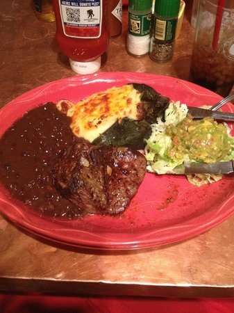 Oscar's Cafe: Steak and poblano pepper