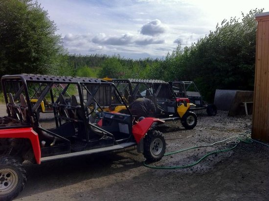 Adventure Kart Expedition: Four seaters available by reservation so you don't have to drive!