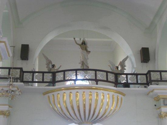 La Iglesia de Nuestra Senora de Guadalupe: Back of the church