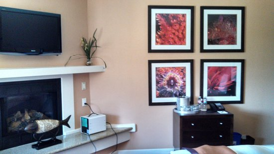 Mariposa Inn and Suites: nice decor touches throughout