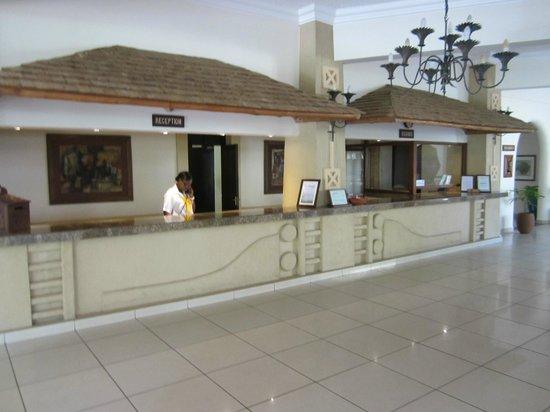 Neptune Beach Resort: Reception