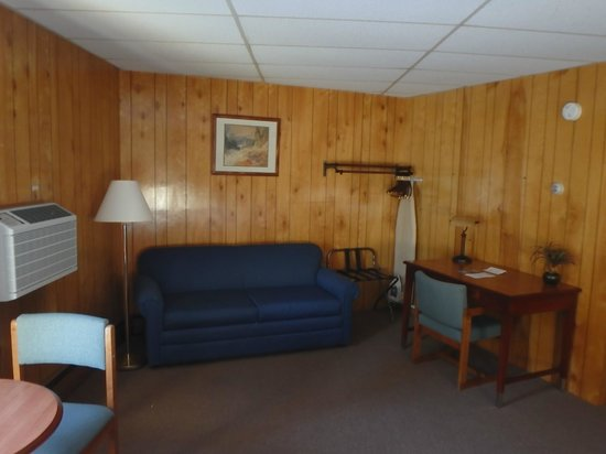 Shaheen's Adirondack Inn: Relax in our larger unit