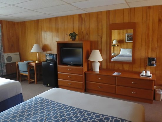Shaheen's Adirondack Inn: Comforts while you travel, microwave/frig & coffee
