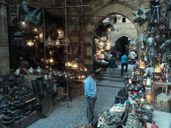 Khan Al-Khalili: metal shop
